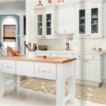 white-kitchen-cabinets-island-Peachtree City-ga