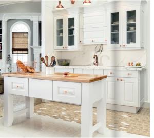 white-kitchen-cabinets-island-Peachtree City-ga